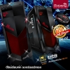[ เคส+ซัพพาย ] ITSONAS Falcon (Black-Red) Supply 550W