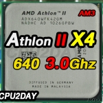 [AM3] Athlon II X4 640 3.0Ghz