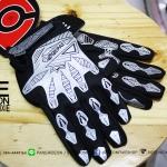 ถุงมือเจลเต็มนิ้ว QEPAE 2016 - White