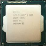 [1150] Core i3 4130 3M Cache, 3.40 GHz