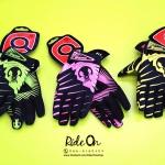 ถุงมือเจลเต็มนิ้ว QEPAE - NEW COLOR