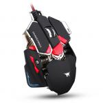 [อุปกรณ์เสริม] Gaming Mouse มาโคร CW-80 4800DPI เปลียไฟได้ 4 สี (แดง)