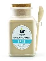 Herbcup : Facial Mask Powder Iris ผงสมุนไพรพอกหน้า สูตรผิวแพ้ง่าย ขนาด 100 กรัม