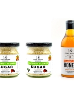 Healthy Collection Combo A : Coconut Flower Sugar 120G. x 2 + Pure Natural Honey 380G. (เลือกรสได้)