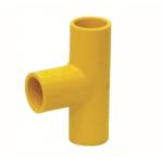 ข้อต่อสามทางสายสีเหลือง ขนาด 1 (50ตัว/ลัง)