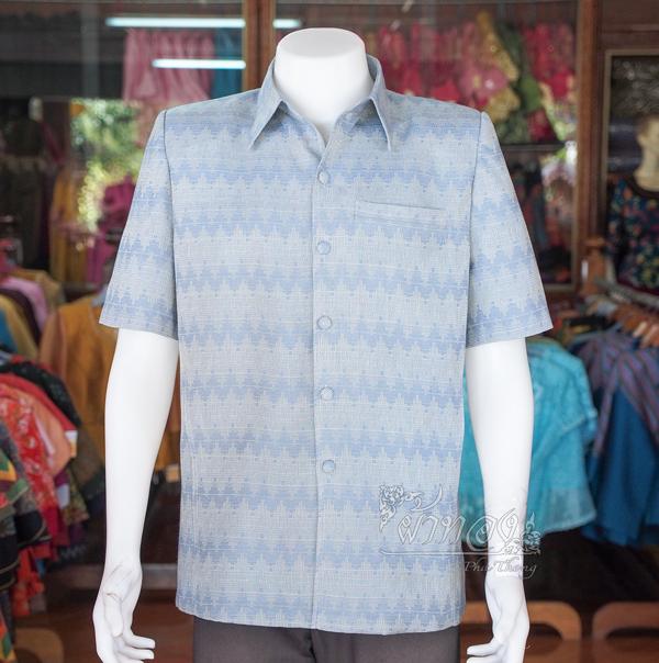 เสื้อสูทผ้าฝ้ายลายมัดหมี่สุโขทัย ไซส์ M