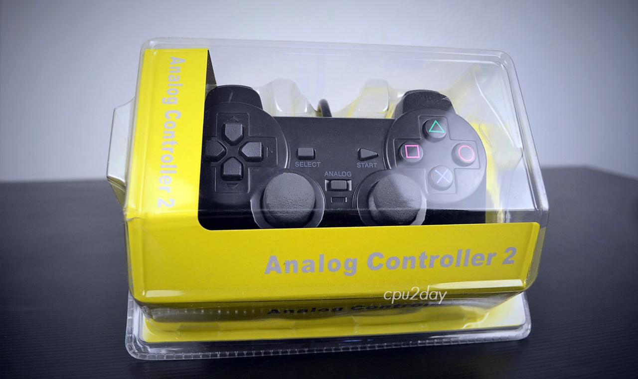 [อุปกรณ์เสริม] จอยเกมส์ หัวต่อแบบ PS2 Joy Play2