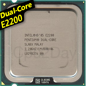 [775] Dual Core E2200 (1M Cache, 2.20 GHz, 800 MHz FSB)