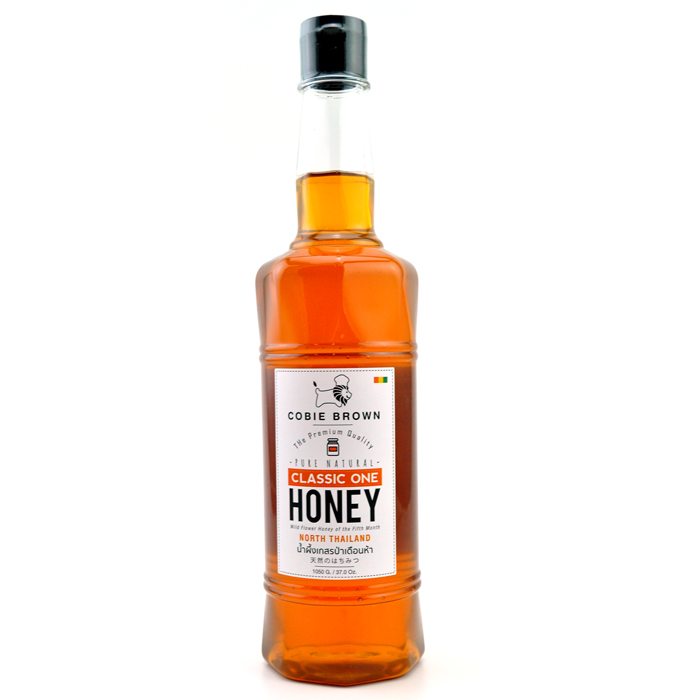 Cobie Brown : น้ำผึ้งเกสรป่าธรรมชาติแท้ 100% เดือนห้า รุ่น Classic One จากภาคเหนือ ขนาด 1050 กรัม