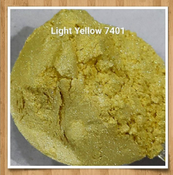 Mica Light Yellow 7401
