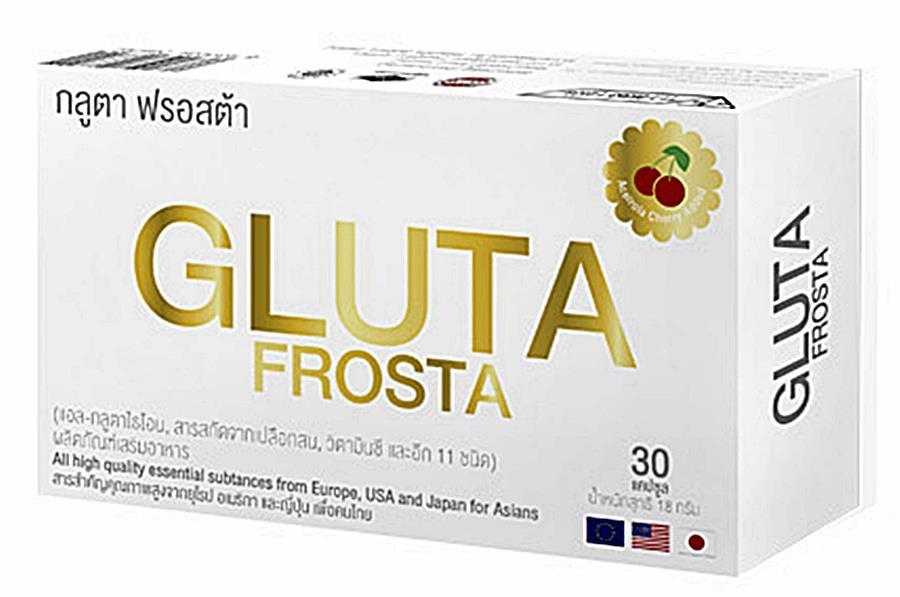 กลูต้า ฟรอสต้า Gluta Frosta 4xx - 550 บาท