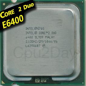 [775] Core 2 Duo E6400 (2M Cache, 2.13 GHz, 1066 MHz FSB)