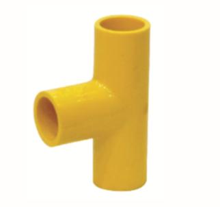 ข้อต่อสามทางสายสีเหลือง ขนาด 3/8 (130ตัว/ลัง)
