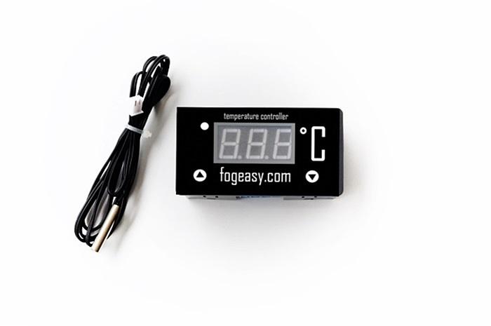 เครื่องควบคุมอุณหภูมิ สำหรับชุดพ่นหมอก fogeasy เท่านั้น ( 12 vdc ) ( เพิ่มความยาวสายเซ็นเซอร์ได้ )
