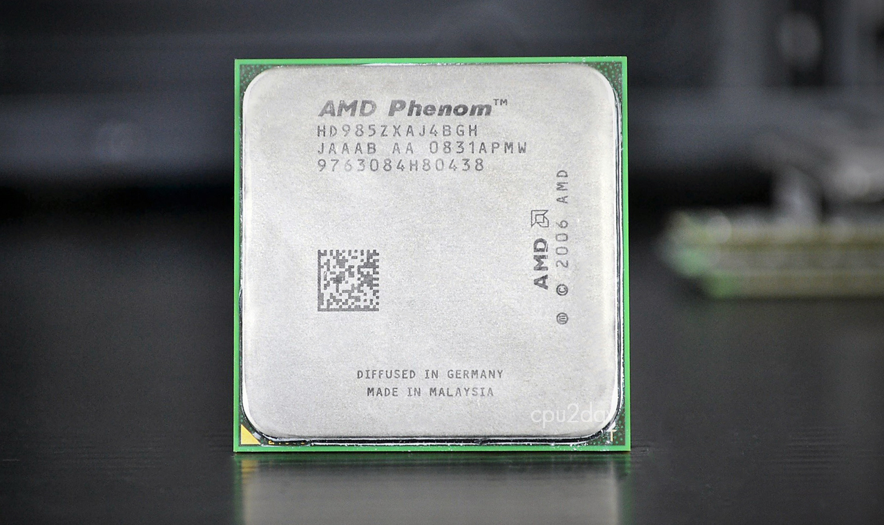 [AM2+] AMD Phenom X4 985Z 2.5Ghz (125W, BE) Black Edition