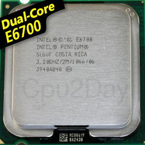 [775] Dual Core E6700 (2M Cache, 3.20 GHz, 1066 FSB)