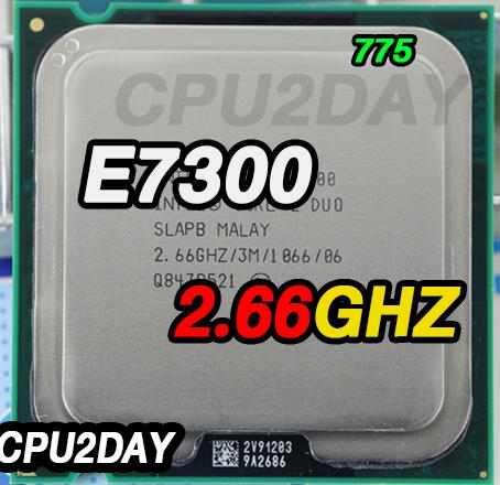[775] Core 2 Duo E7300 (3M Cache, 2.66 GHz, 1066 MHz FSB)