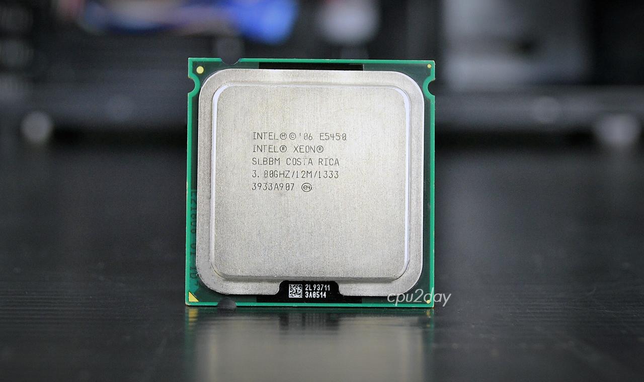 [775] Xeon E5450 775 (12M Cache, 3.00 GHz, 1333 MHz FSB) ไม่ต้องตัดบอร์ด (บากรูไว้ให้แล้ว)