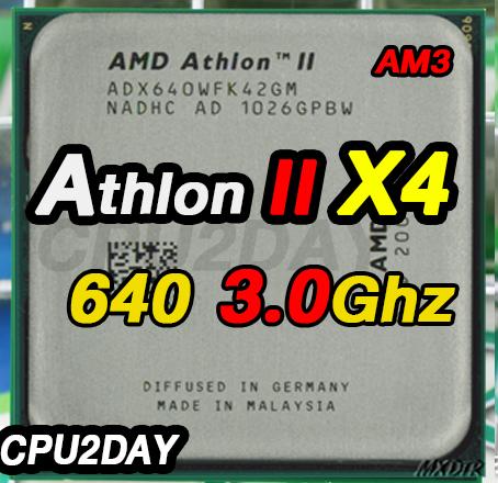 [AM3] Athlon II X4 640 3.0Ghz