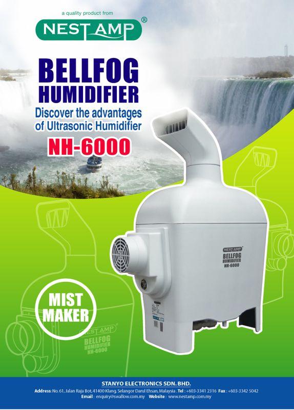 ultrasonic mist maker NH6000