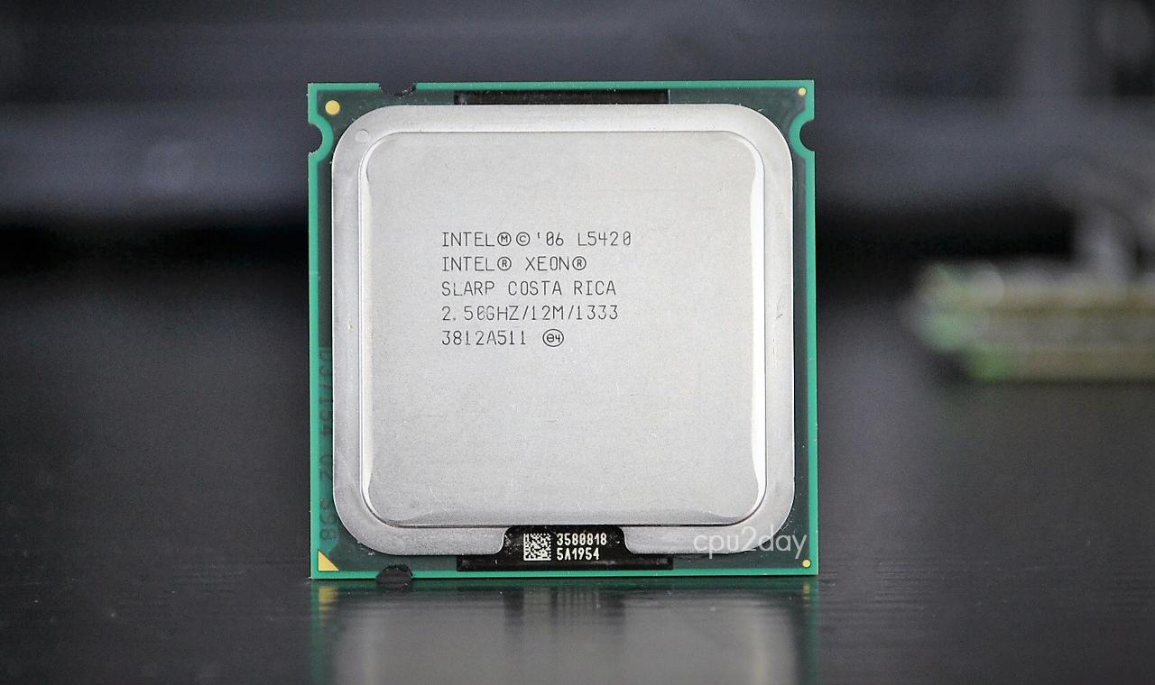 [775] Xeon E5420 หรือ L5420 775 (12M Cache, 2.50 GHz, 1333 MHz FSB)