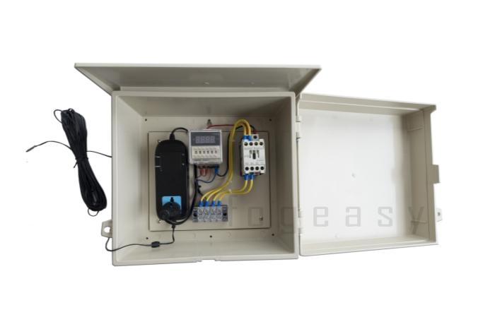 ตู้ควบคุมอุณหภูมิแบบตั้งเวลา สลับ เปิด/ปิด ปั๊มน้ำ เป็นวินาที 220 VAC สายเซ็นเซอร์ ยาว 10 m