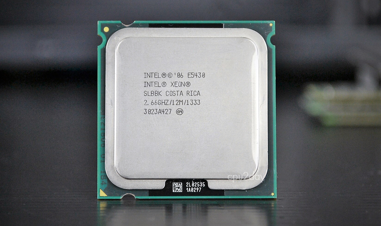 [775] Xeon E5430 775 (12M Cache, 2.66 GHz, 1333 MHz FSB)