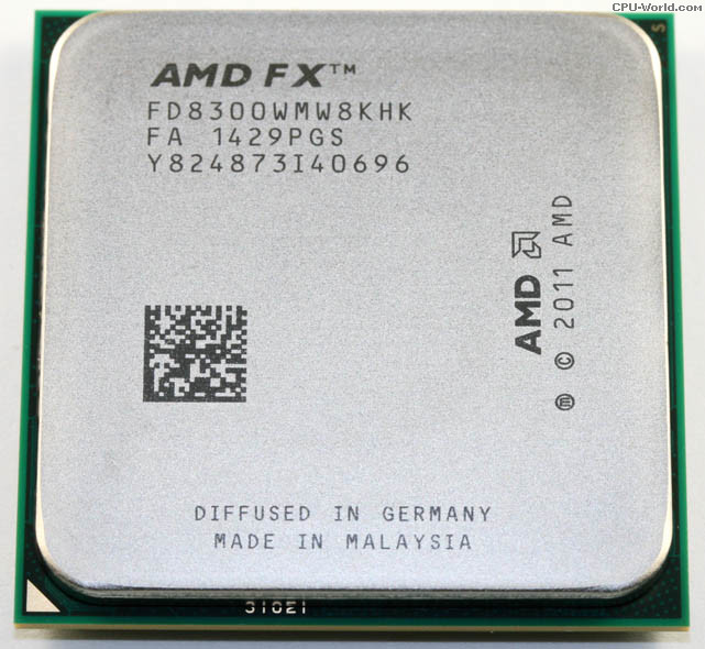 [AM3+] FX-8300 3.3Ghz Turbo 4.2Ghz