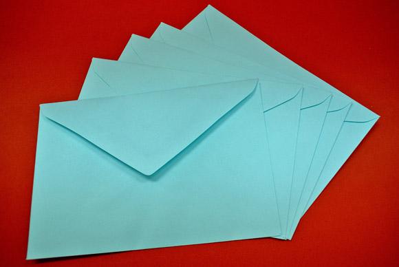หัวจดหมาย, ซองจดหมาย (Letter)