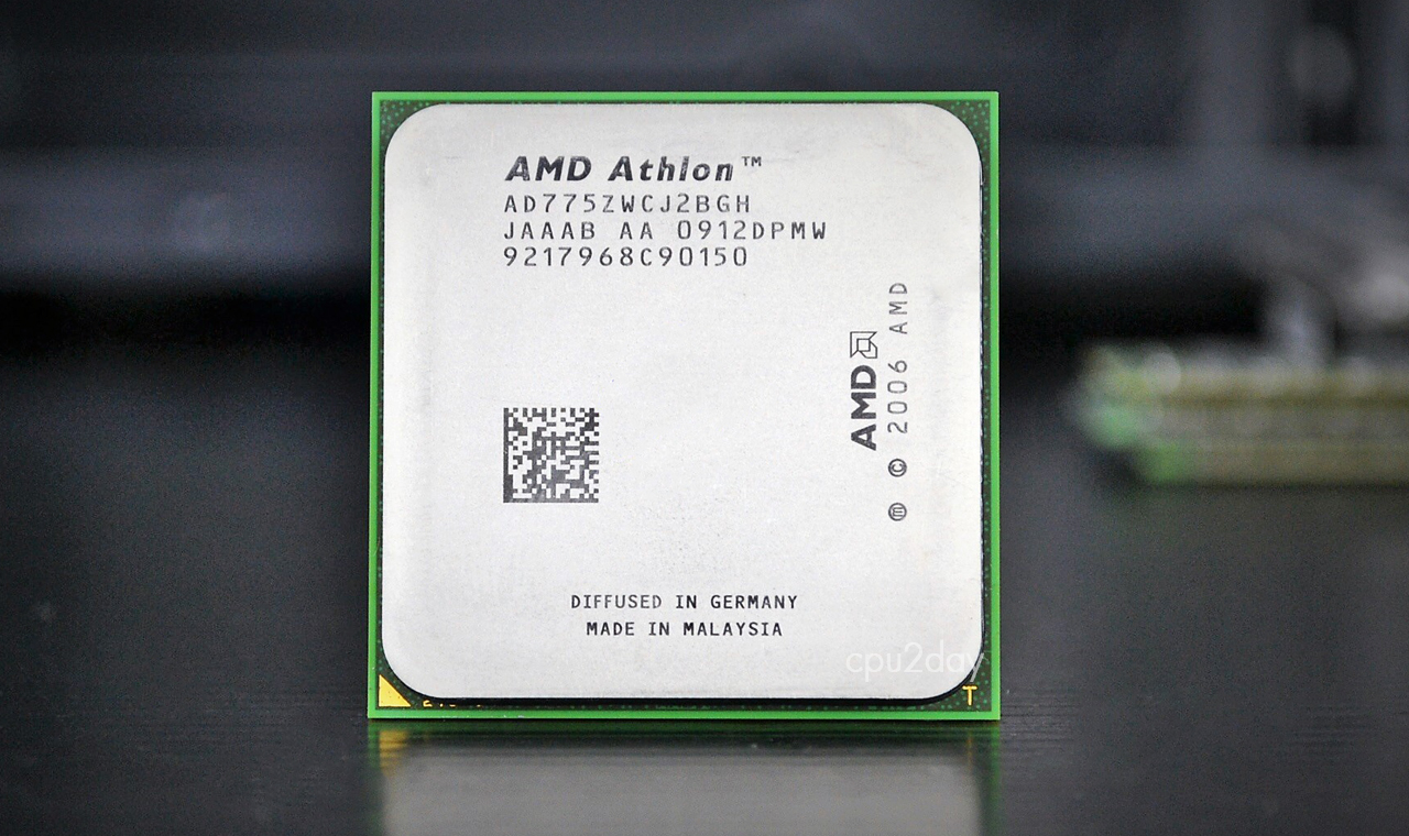 [AM2] Athlon 64 X2 775Z 2.7Ghz Black Edition