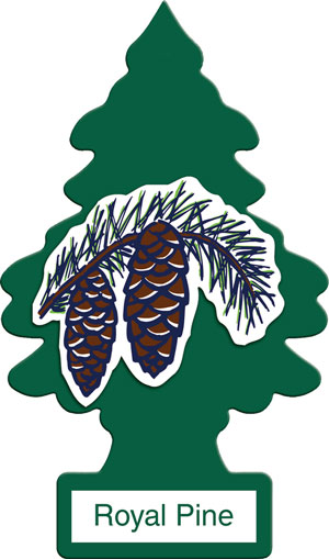 กลิ่น Royal Pine กลิ่นนี้จะทำให้รู้สึกเหมือนอยู่ท่ามกลางป่าไม้ที่เขียวชะอุ่มตลอดปี