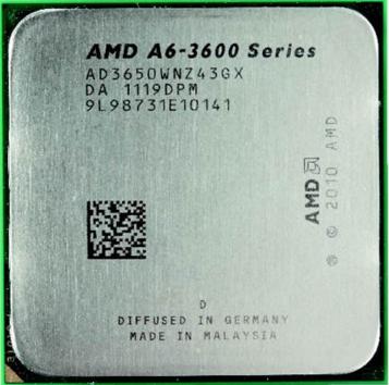 [FM1] APU A6-3650 2.6Ghz