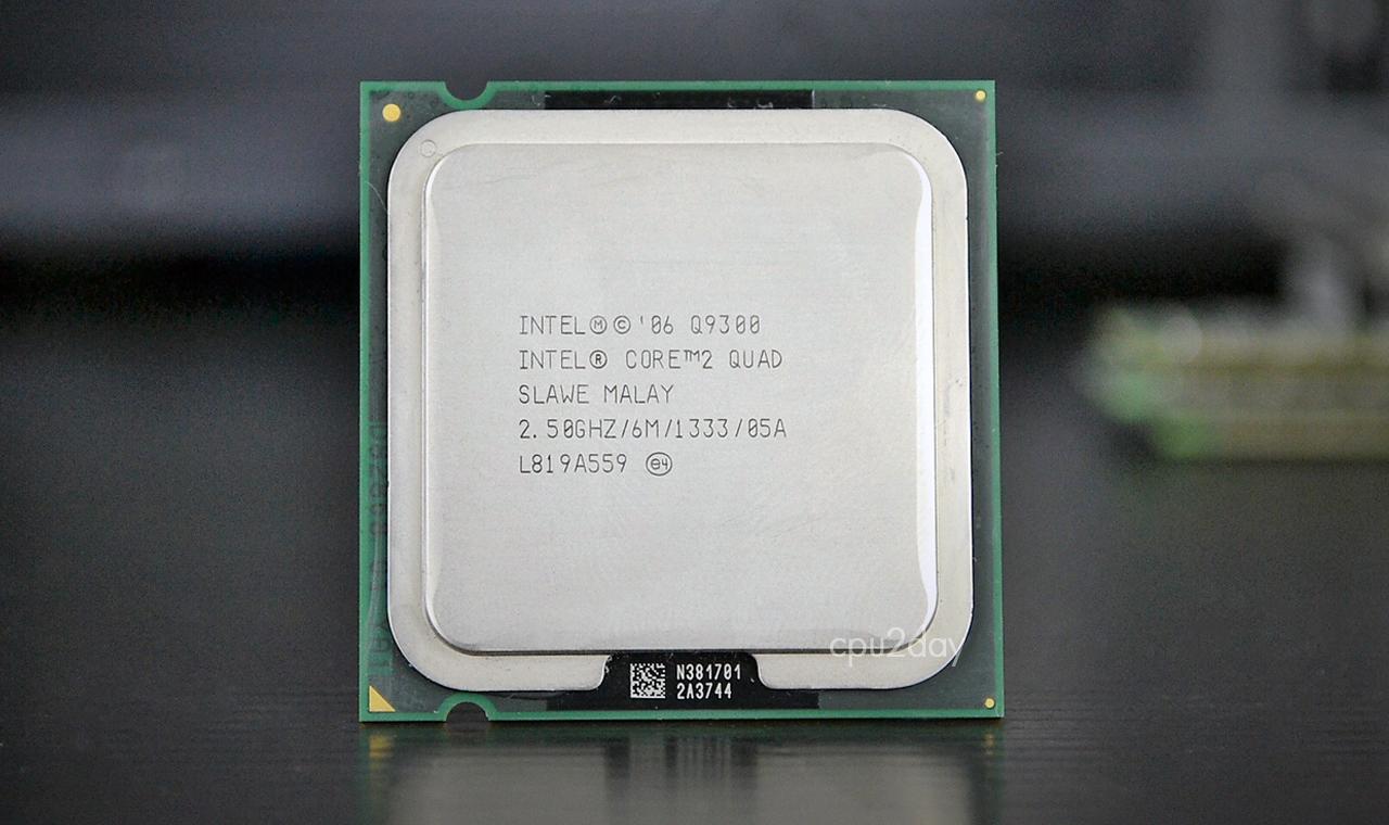 [775] Core 2 Quad Q9300 (6M Cache, 2.50 GHz, 1333 MHz FSB)