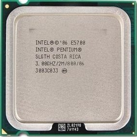 [775] Dual Core E5700 แคช 2M, 3.00 GHz, 800 MHz FSB