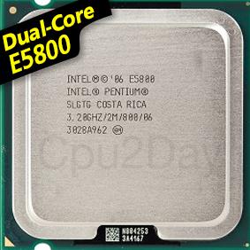 [775] Dual Core E5800 (2M Cache, 3.20 GHz, 800 MHz FSB)