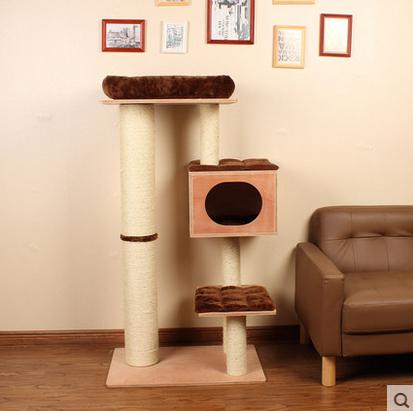 คอนโดแมว ต้นไม้แมวเป็นที่ลับเล็บแมวในตัว สไตล์หรูหรา