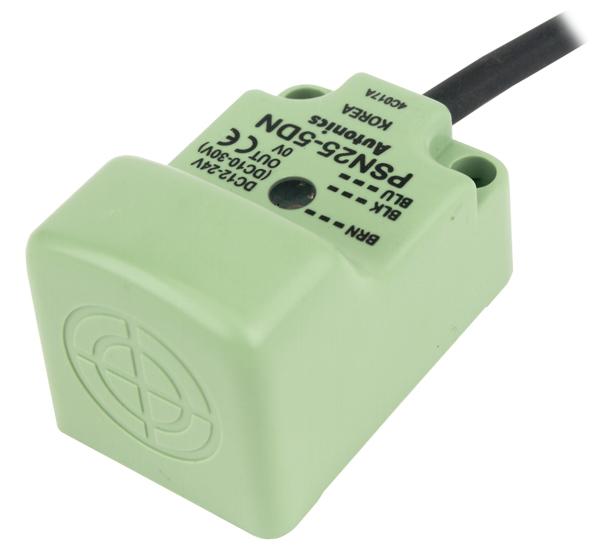 PSN25-5AC [ Detect 5mm. x PSN25-5AC Dia 25mm, Long Distance Type Inductive Proximity Sensor ]