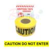 """เทปกั้นเขต สีเหลือง Print """"CAUTION DO NOT ENTER"""" กว้าง 7.5 ซม. ( 3นิ้ว ) ยาว ( 500 เมตร )"""