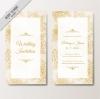 การ์ดแต่งงาน Wedding card สไตล์การออกแบบดีไซน์แบบเรียบๆพื้นหลังสีขาวแล้วตัดด้วยตัวหนังสือสีทองเพิ่มความหรูหราสวยงาม การ์ดงานแต่ง ไว้สำหรับ เรียนเชิญแขกผู้มีเกียรติเข้ามาร่วมงานแต่งงาน // ตัวอย่างดีไซน์ การ์ดแต่งงาน การ์ดเชิญ การ์ดสวยๆ