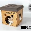 บ้านหมาแมว2in1 เป็นทั้งบ้านและสามารถใช้แทนเก้าอี้ได้