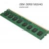 OEM DDR3/1600/4G รองรับทุกบอร์ด