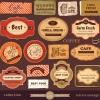 ฉลากอาหาร ของกิน สไตล์การออกแบบดีไซน์แบบวินเทจ ทำให้ดูทันสมัยมากขึ้น ฉลากไว้ใช้แปะกับแพคเกจกล่องกาแฟ,แก้วกาแฟ // ตัวอย่างดีไซน์ สติ๊กเกอร์ฉลาก Chill Shop Package