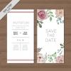 การ์ดแต่งงาน Wedding card สไตล์การออกแบบดีไซน์แบบเรียบๆแล้วตกแต่งด้วยดอกไม้แบบวาดด้วยสีน้ำทำให้ดูหรูหรามากยิ่งขึ้น การ์ดงานแต่ง ไว้สำหรับ เรียนเชิญแขกผู้มีเกียรติเข้ามาร่วมงานแต่งงาน // ตัวอย่างดีไซน์ การ์ดแต่งงาน การ์ดเชิญ การ์ดสวยๆ