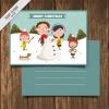 โปสการ์ด Postcard สไตล์การออกแบบดีไซน์โปสการ์ดด้วยการ์ตูนรูปครอบครัวสุขสันต์ทำให้ดูโดดเด่นสดุดตา โปสการ์ด ไว้สำหรับ ส่งบทความถึงคนสำคัญ // ตัวอย่างดีไซน์ โปสการ์ด Postcard พิมพ์โปสการ์ด โปสการ์ดสวยๆ Chill Shop Package