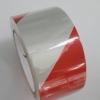REFLECTIVE TAPE เทปตีเส้น สะท้อนแสง สีขาว-แดง กว้าง 2 นิ้ว ยาว 20 เมตร