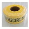 เทปฝังใต้ดิน สีเหลือง ตัวอักษรสีดำ CAUTION ELECTRIC LINE BURIED BELOW กว้าง 75 mm. (3 in.) x ยาว 305 เมตร