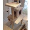 MU0031 คอนโดแมวสี่ชั้น ต้นไม้แมว cat tree มีบ้านอุโมงค์ ของเล่นแขวน สูง 150 cm