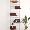 MU0023 คอนโดแมว ยึดติดเพดาน ขั้นบันได ติดเพดาน Skywalk นำเข้าจากญี่ปุ่น