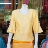 เสื้อผ้าฝ้ายสุโขทัย ปักมุก ไซส์ 2XL