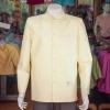 เสื้อสูทไหมแพรทองคอพระราชทานแขนยาว ไซส์ XL